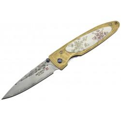 Couteau Mcusta Platinium Label Cristal de neige