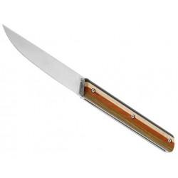 Couteau Le Périgord à billes marqueterie 11cm inox BI94C