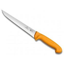 Couteau à saigner Victorinox Swibo lame dos droit grillon jaune
