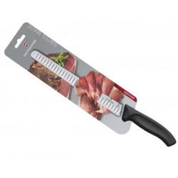 Couteau à jambon Victorinox SwissClassic 25cm noir - sur carte
