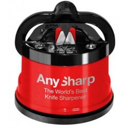 Aiguiseur pour couteaux AnySharp Pro rouge