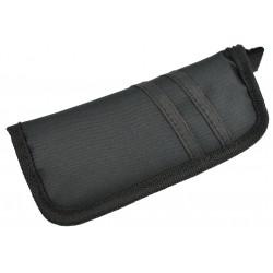Étui noir en nylon pour couteau - sans logo