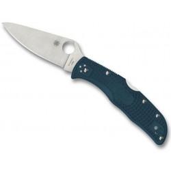 Couteau Spyderco Endela bleu K390