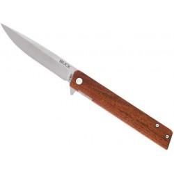 Couteau Buck Decatur bois 0256BRS