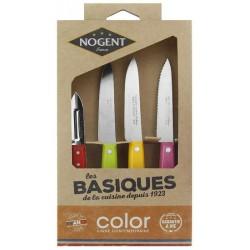 Coffret Nogent *** Les basiques de la cuisine inox