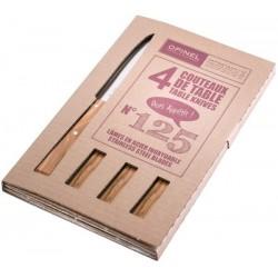 Coffret 4 couteaux de table Opinel - Esprit Sud