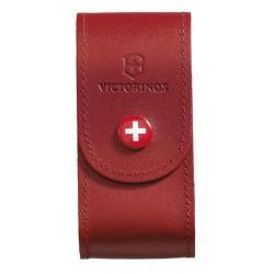 Étui couteau suisse Victorinox cuir rouge - 15 à 23 pièces