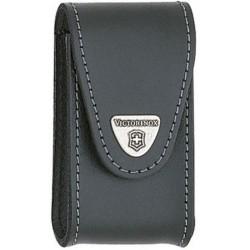 Étui cuir noir Victorinox pour couteau suisse - 15 à 23 pièces