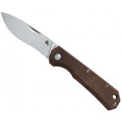 Couteau Black Fox Ciol micarta marron