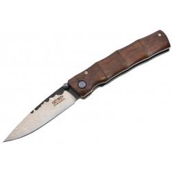 Couteau Mcusta MC74MD Max Knives Mokume Damascus