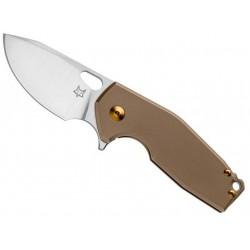 Couteau Fox Suru Titanium bronze - Édition limitée 2021