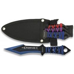 Set de 3 couteaux de lancer Albainox Chipprewa