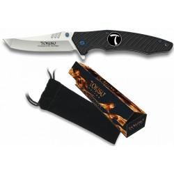 Couteau pliant style Japonais Tokisu G10 lame 95mm