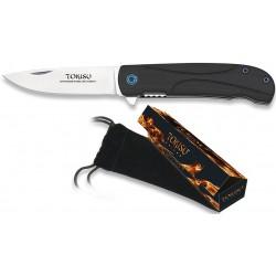 Couteau pliant Tokisu 18681 - lame 7cm manche G10 noir