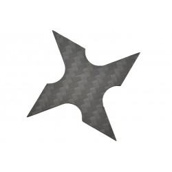Etoile de lancer Max knives 4 branches en fibre de carbone