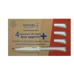 Coffret de 4 couteaux de table Opinel Bon Appétit+ nuage