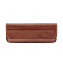 Étui tendance en cuir Pérou horizontal 12/13cm