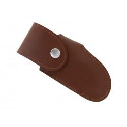 Étui le Montagnard en cuir Pérou 14cm