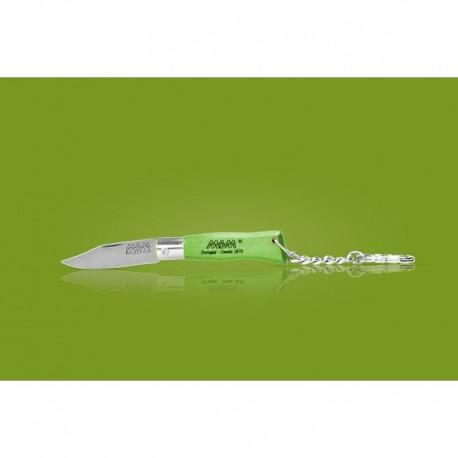 Couteau MAM porte-clés - bois hêtre vert