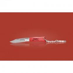 Couteau MAM porte-clés - bois hêtre rouge