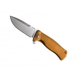 Couteau LionSteel SR11 aluminium noir