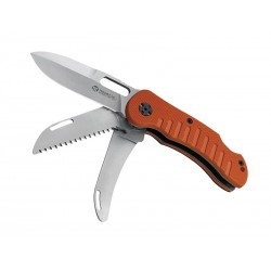 Couteau Maserin Jager 3 pièces G10 orange