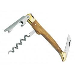 Couteau sommelier Laguiole G.David 3 pièces olivier 6396