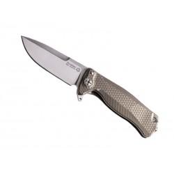 Couteau LionSteel SR22 Titanium bronze