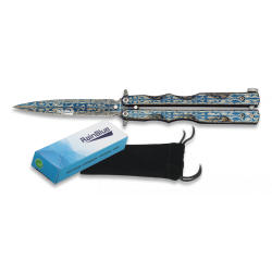 Couteau papillon Rainblue Laser 02140
