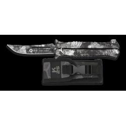 Couteau papillon K25 Python Camo noir 02142