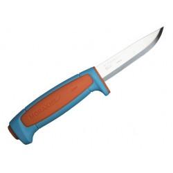 Couteau Mora Basic 511 turquoise orange carbone