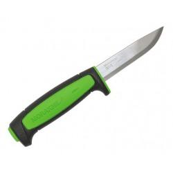 Couteau Mora Basic 511 noir vert pomme carbone