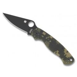 Couteau Spyderco Para Military 2 camo lame noire