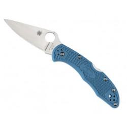 Couteau Spyderco Delica 4 bleu