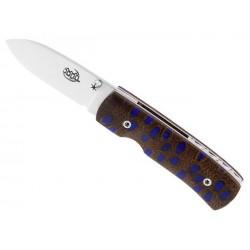 Couteau Citadel Stavanger noix de banksia bleu