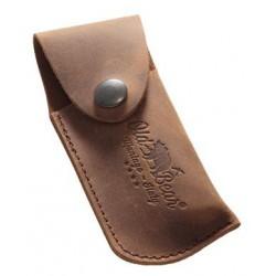 Étui cuir marron pour couteau Old Bear XS/S/M