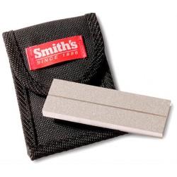 Pierre à affûter 2 faces Smith's avec pochette