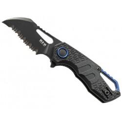 Couteau MKM Isonzo par Fox Knives Hawkbill noir