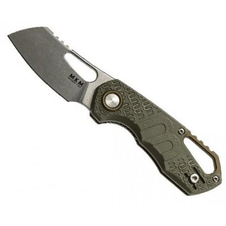 Couteau MKM Isonzo par Fox Knives Cleaver vert