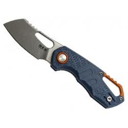 Couteau MKM Isonzo par Fox Knives Cleaver bleu
