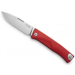 Couteau LionSteel Thrill aluminium rouge