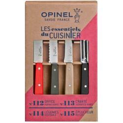 Coffret 4 couteaux Opinel Essentiels Loft