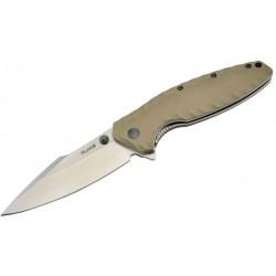 Couteau Ruike P843-B 12C27/G10 tan