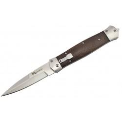 Couteau automatique Max Knives MKO15 manche bois