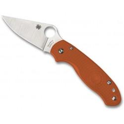 Couteau Spyderco Para 3 Rex 45 burnt orange Sprint