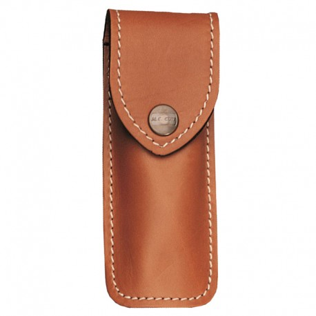 Étui French Leather Pouch Brown Large