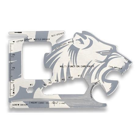Carte multifonction Barbaric Tigre - 39047