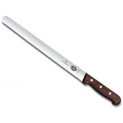 Couteau à jambon Victorinox palissandre lame à dents