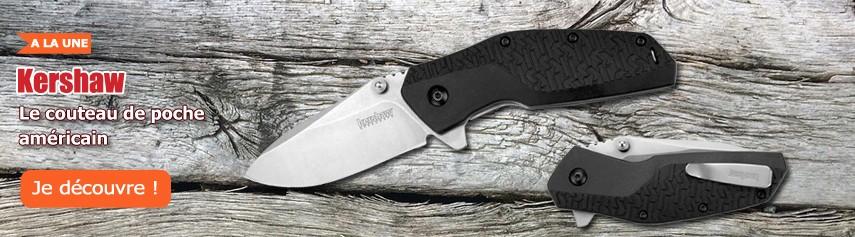 Couteaux pliants de poche de fabrication américaine